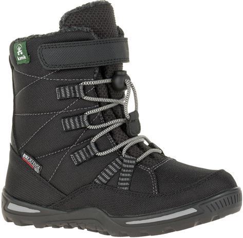 Kamik Jace kengät Lapset, black-noir