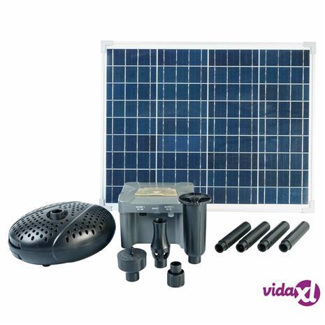 Ubbink SolarMax 2500 -setti aurinkopaneelilla, pumpulla ja akulla, Uima-altaat ja vesilelut