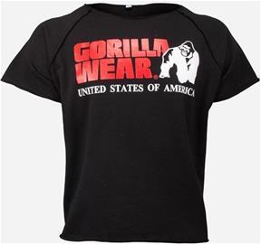 Gorilla Wear Classic Workout Top, musta