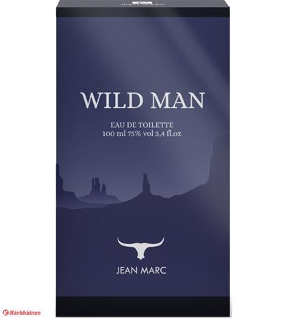 Jean Marc Wild Man 100 ml EdT miesten tuoksu