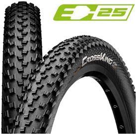 "Continental Cross King Performance Clincher Tire 27.5x2.2"""" E-25, black"
