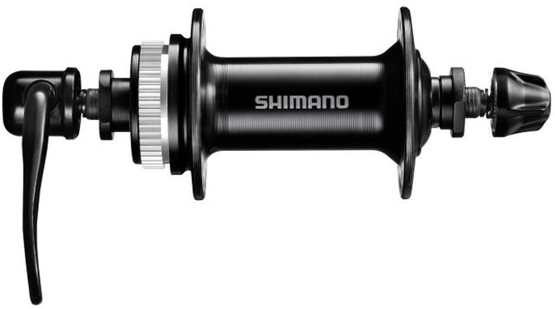 Shimano HB-TX505 Front Wheel Hub Disc Quick Release, black