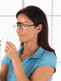"""Maximex """"Clip-on-suurennuslasit silmälasien päälle neutraali"""""""