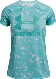 Under Armour Big Logo Tee Novelty Treenipaita, Neo Turquoise XS