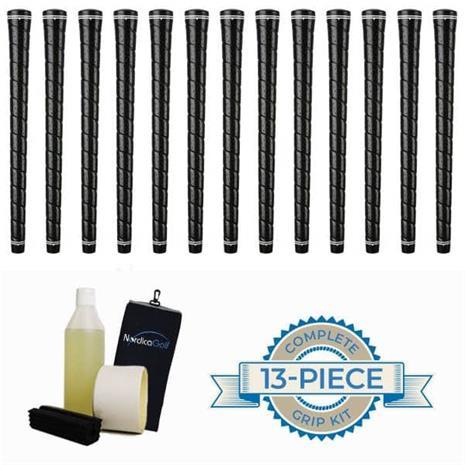 "Karma Wrap Hi-Tac Black 0.580"" Grippipakkaus- 13 grippiä, rubber vice clamp, neste, teippi, pyyhe"
