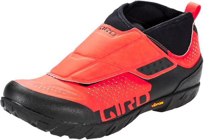 Giro Terraduro Mid kengät Miehet, vermillion/black
