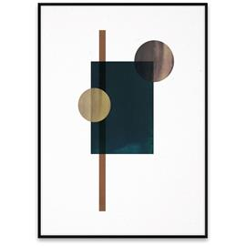 Paper Collective Shapes of Colour 04 juliste 50x70 cm