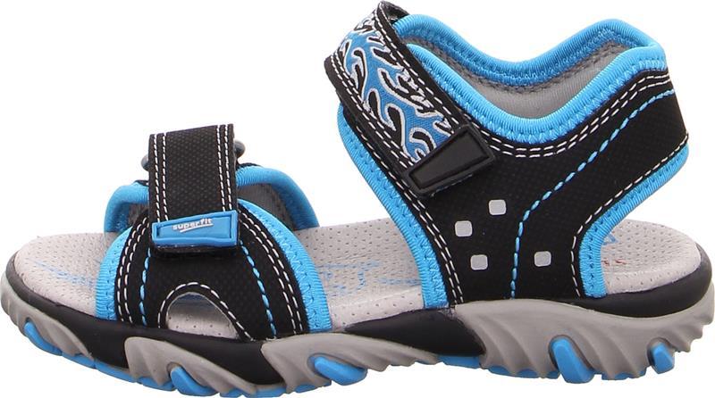 Superfit Mike2 Sandaalit, Black/Blue 29