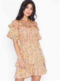 NLY Trend Flower Off Shoulder Dress