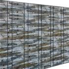 [neu.haus] Kalvo aitaan - 35 m / 7m² - ruskea, kivi -vaikutelma
