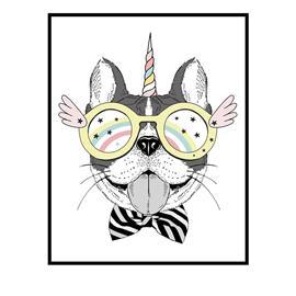 XO Posters, Poster Unicorn Dog