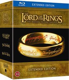 Taru sormusten herrasta - Extended Trilogy (Lord of the Rings, blu-ray + dvd), elokuva