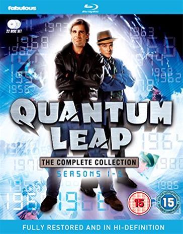 Aikahyppy (Quantum Leap): kaudet 1-5 (Blu-Ray), TV-sarja