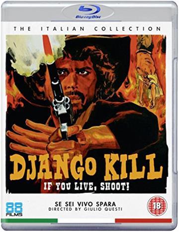 Django Kill... If You Live, Shoot! (Blu-Ray), elokuva