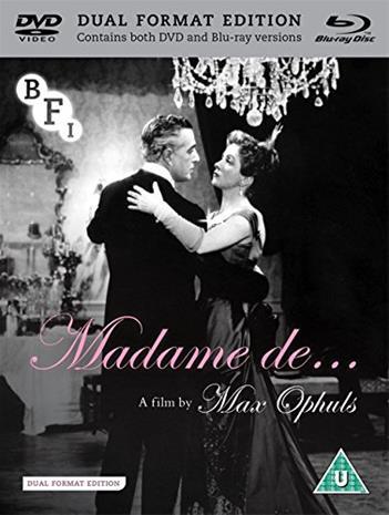 The Earrings of Madame de... (Blu-Ray), elokuva
