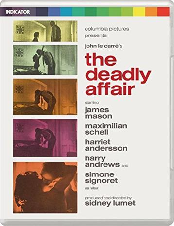 The Deadly Affair (Blu-Ray + dvd), elokuva