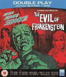 The Evil of Frankenstein (Blu-Ray + dvd), elokuva