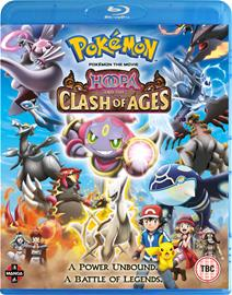 Pokémon the Movie: Hoopa and the Clash of Ages (2015, Blu-Ray), elokuva