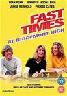 Kuumat kinkut (Fast Times at Ridgemont High), elokuva