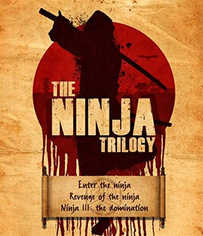 The Ninja Trilogy (Enter The Ninja / Revenge Of The Ninja / Ninja III: The Domination, Blu-Ray + dvd), elokuva
