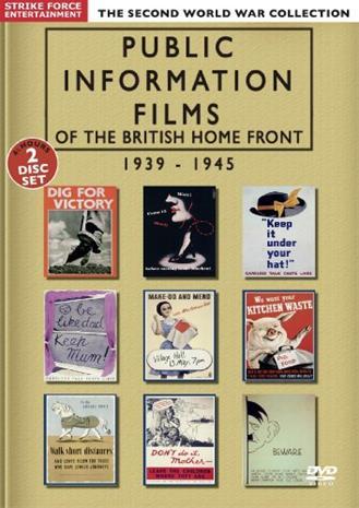 Public Information Films Of The British Home Front 1939-1945, elokuva