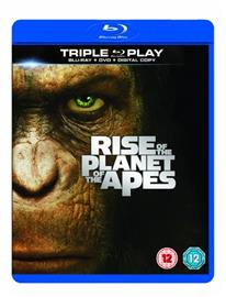 Apinoiden planeetan synty ja vallankumous (Rise of the Planet of the Apes + Dawn of the Planet of the Apes, Blu-Ray + dvd), elokuva