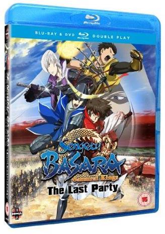 Sengoku Basara Samurai Kings Movie: The Last Party (Blu-Ray + dvd), elokuva