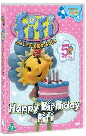 Fifi Ja The Flowertots - Happy Birthday Fifi (DVD)