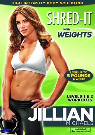 Jillian Michaels: Shred It With Weights, Elokuva