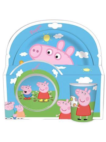 Peppa Pig Breakfast Set Peppa & George
