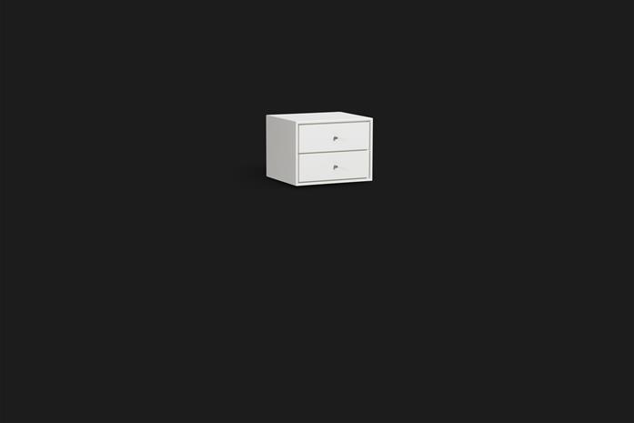 Mavis Volt, seinään kiinnitettävä yöpöytä