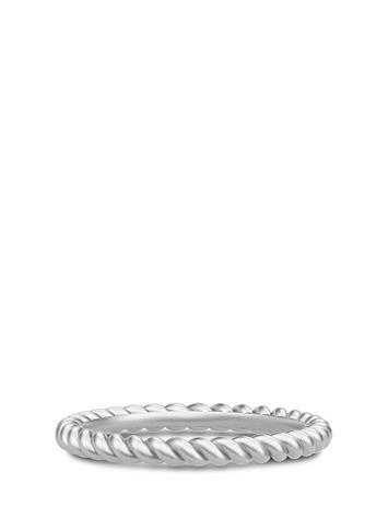 Julie Sandlau Twisted Ring 52 - Rhodium Sormus Korut Hopea Julie Sandlau RHODIUM
