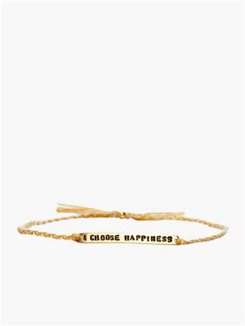 Santai I Choose Happiness Bracelet