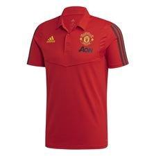 Manchester United Pikee - Punainen/Harmaa