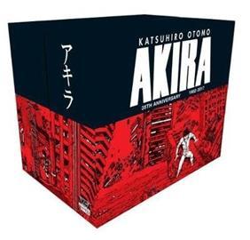 Akira 35th Anniversary Box Set (Katsuhiro Otomo), kirja
