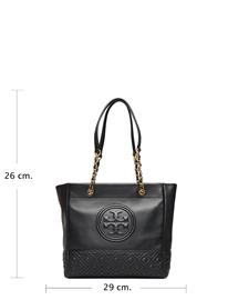 TORY BURCH Fleming Tote Bags Shoppers Fashion Shoppers Musta TORY BURCH BLACK
