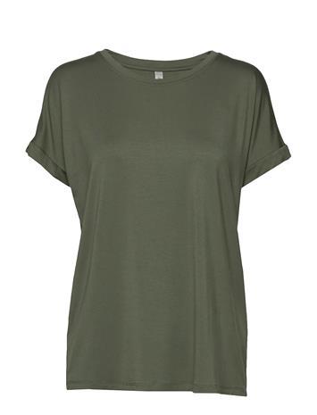 Soyaconcept Sc-Marica T-shirts & Tops Short-sleeved Keltainen Soyaconcept HONEY YELLOW