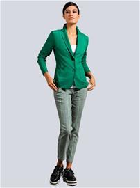 """Alba Moda"""" """"Joggers-tyyliset housut Musta::Valkoinen::Vihreä"""
