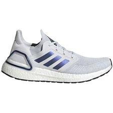 adidas Ultra Boost 20 - Harmaa/Sininen/Musta