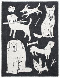 Lapuan Kankurit Koirapuisto, villahuopa 130 x 180 cm
