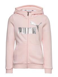 PUMA Ess+ Hooded Sweat Jacket G Huppari Vaaleanpunainen PUMA ROSEWATER