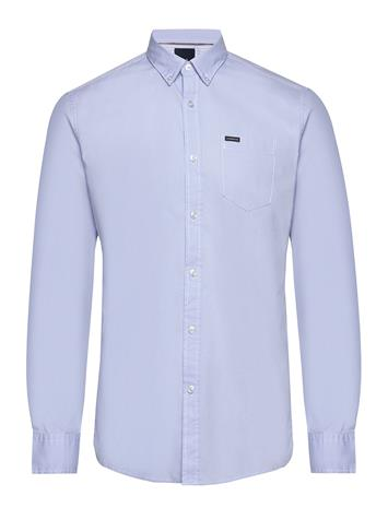 Lindbergh Plain Oxford Shirt Paita Rento Casual Sininen Lindbergh LIGHT BLUE