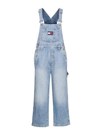 Tommy Jeans New Dungaree Denim Ntslr Jumpsuit Haalari Sininen Tommy Jeans 90S LIGHT BL RIG