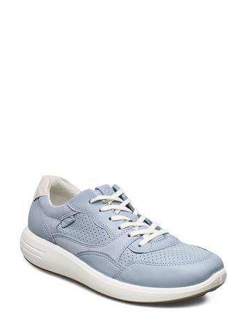ECCO Soft 7 Runner W Matalavartiset Sneakerit Tennarit Sininen ECCO DUSTY BLUE/DUSTY BLUE/SHADOW WHITE