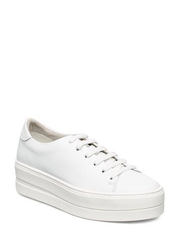 Tamaris Woms Lace-Up Matalavartiset Sneakerit Tennarit Valkoinen Tamaris WHITE UNI