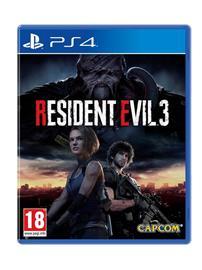 Resident Evil 3, PS4 -peli
