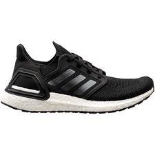adidas Ultra Boost 20 - Musta/Hopea/Valkoinen Nainen
