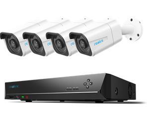 Reolink 4K Ultra HD RLK8-800B4, valvontakamerajärjestelmä, 4 kameraa