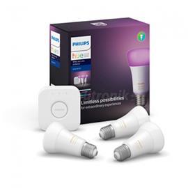 Philips Hue White & Color Ambience Starter Set E27 Bluetooth, älyvalaistuksen aloituspakkaus