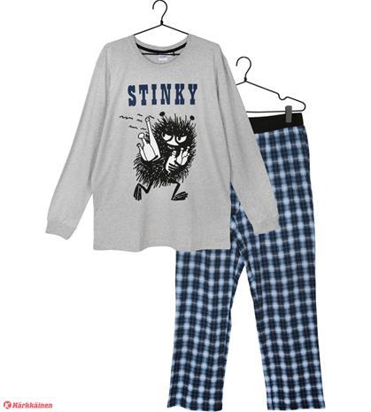 Muumi Haisuli miesten pyjama